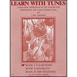 Willis Music Learn With Tunes Book 1 Elementary For Violin (412700)