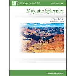 Willis Music Majestic Splendor - Early Intermediate Piano Solo Sheet (416818)