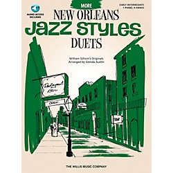 Willis Music More New Orleans Jazz Styles - Piano Duets (Early Intermediate 1 Piano 4 Hands) Book/CD by Glenda Au (416806)