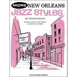 Willis Music More New Orleans Jazz Styles Late Intermediate Piano (415946)