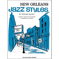 Willis Music New Orleans Jazz Styles Keyboard Piano by William Gillock (415931)