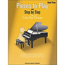 Willis Music Pieces To Play Book 3 (404550)