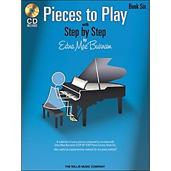 Willis Music Pieces To Play Book 6 Book/CD (416777)