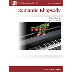 Willis Music Romantic Rhapsody - Later Intermediate Piano Solo Sheet by Glenda Austin (416764)