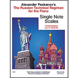 Willis Music Russian Technical Regimen Volume 1 by Alexander Peskanov (405701)