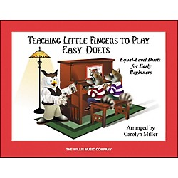 Willis Music Teaching Little Fingers To Play Easy Duets (Book Only) 1 Piano 4 Hands (416830)