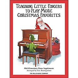 Willis Music Teaching Little Fingers To Play More Christmas Favorites Book (416723)