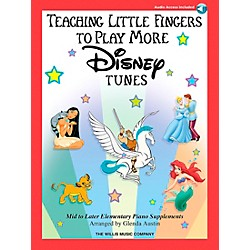 Willis Music Teaching Little Fingers To Play More Disney Tunes Book/CD (416751)