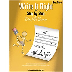 Willis Music Write It Right Book 3 (404473)