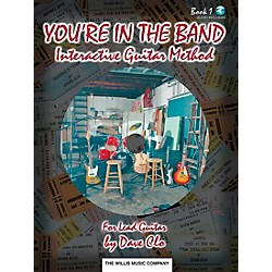 Willis Music You're In The Band Lead Guitar Method Book 1 Book/CD (406393)