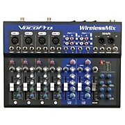 VocoPro WirelessMix-2 All-In-One Live Sound Karaoke Mixer