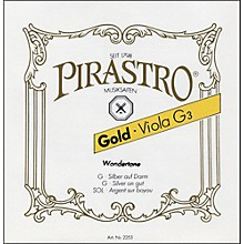Pirastro Wondertone Gold Label Series Viola String Set
