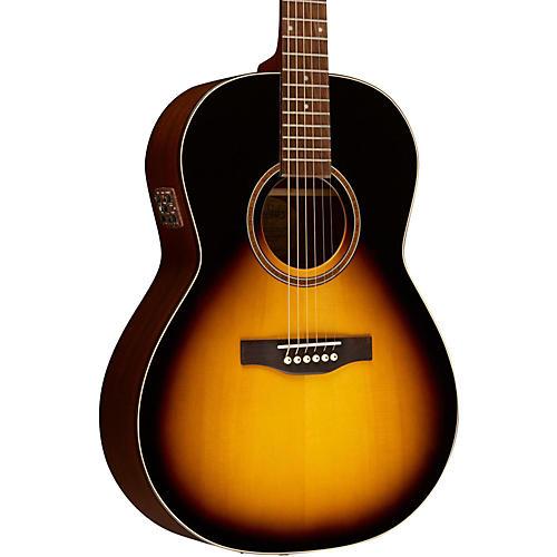 Simon & Patrick Woodland Pro Folk Sunburst Acoustic-Electric Guitar-thumbnail