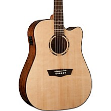 Washburn Woodline Series WLD10SCE Acoustic-Electric Cutaway Dreadnought Guitar