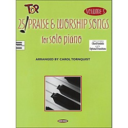 Word Music 25 Top Praise & Worship Songs for Solo Piano Vol 3 (311713)