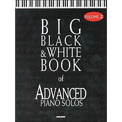Word Music Big Black & White Book Of Advanced Piano Solos Vol 2 (309999)