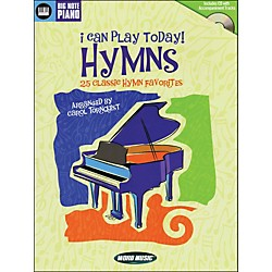 Word Music I Can Play Today (Hymns) Book/CD arranged for easy piano (311964)