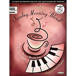 Word Music Sunday Morning Blend Vol 4 arranged for piano, vocal, and guitar (P/V/G) (310999)