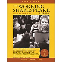 The Working Arts Library/Applause Working Shakespeare Applause Books Series Softcover with DVD Written by Cicely Berry