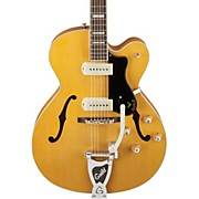 Guild X-175B Manhattan Hollowbody Archtop Electric Guitar with Guild Vibrato Tailpiece