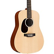 Martin X Series 12-string Martin D12X1AE-L Left-Handed Acoustic-Electric