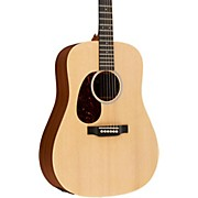 Martin X Series 2016 DX1AE-L Dreadnought Left-Handed Acoustic-Electric Guitar