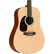 Martin X Series 2016 DXMAE-L Dreadnought Left-Handed Acoustic-Electric Guitar