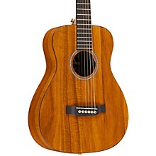 Martin X Series LX Koa Little Martin Left-Handed Acoustic Guitar