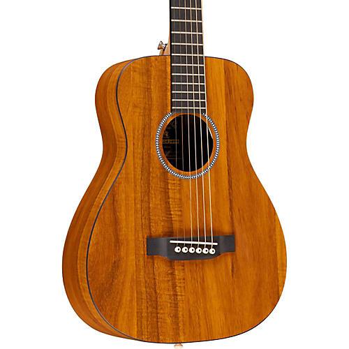 Martin X Series LX Koa Little Martin Left-Handed Acoustic Guitar-thumbnail