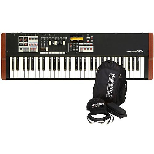 Hammond XK-1C Portable Organ with Keyboard Accessory Pack-thumbnail