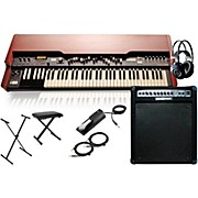 Hammond XK-3c Drawbar Organ with Keyboard Amplifier, Stand, Headphones, Bench, and Sustain Pedal