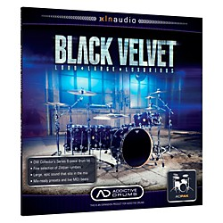 XLN Audio ADpak Black Velvet - Expansion Pack for Addictive Drums Software Download (1096-11)