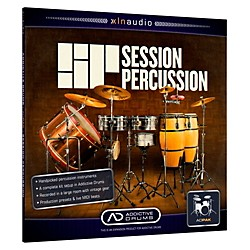 XLN Audio ADpak Session Percussion - Expansion Pack for Addictive Drums Software Download (1096-10)