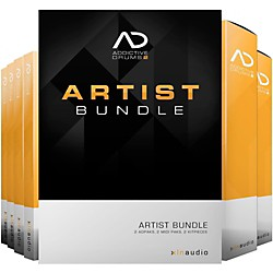 XLN Audio Addictive Drums 2  Artist Bundle (1096-31)