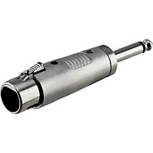 "Rapco Horizon XLR Female to 1/4"" Male Mono Adapter"