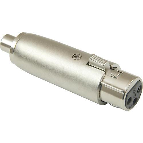 American Recorder Technologies XLR Female to RCA Female Adapter Nickel