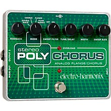Electro-Harmonix XO Stereo Polychorus Analog Flanger and Chorus Guitar Effects Pedal