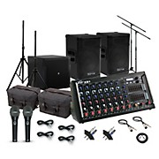 Peavey XR-S Mixer with Kustom KPX115 and Mackie iP18S Subwoofer PA System