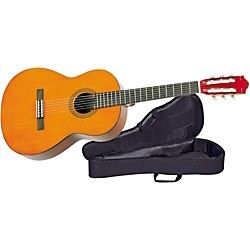 YAMAHA 7/8-Size Classical Guitar with Nylon Case (CS40II-SCCG3)