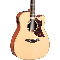 YAMAHA A-Series All Solid Wood Dreadnought Acoustic-Electric Guitar with SRT Preamp/Pickup (A3M MF)