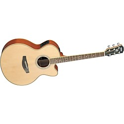 YAMAHA CPX700II Medium-Jumbo Cutaway Acoustic-Electric Guitar (USED004000 CPX700II NA)