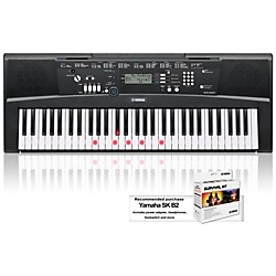 YAMAHA EZ-220 61-Key Lighted Key Portable Keyboard (EZ220)
