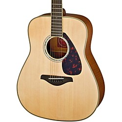 YAMAHA FG740S Flame Maple Solid Top Acoustic Guitar (FG740SFM)