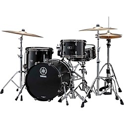 "YAMAHA Live Custom 3-Piece Shell Pack with 18"" Bass Drum (LC8F30JBKW Kit)"