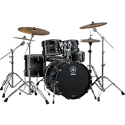 "YAMAHA Live Custom 4-Piece Shell Pack with 20"" Bass Drum (LC0F40BWS Kit)"