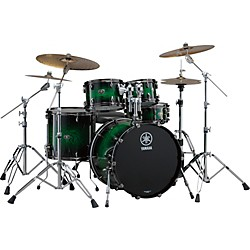 "YAMAHA Live Custom 4-Piece Shell Pack with 22"" Bass Drum (LC2F40EWS)"