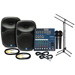 YAMAHA MG102C Gem Sound PXB150 PA Package (MG102C PXB150 PA Package)