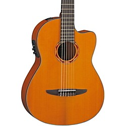 YAMAHA NCX700C Classical Acoustic-Electric Guitar with Cedar Top (NCX700C)