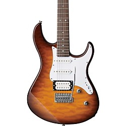 YAMAHA PAC212V Quilted Maple Top Electric Guitar (PAC212VQM TBS)