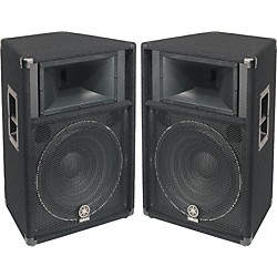 "YAMAHA S115V 2-Way 15"" Club Series V Speaker Pair (KIT773223)"